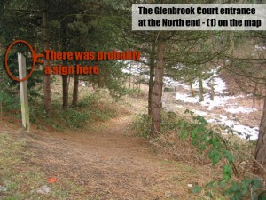 Entrance to Glenbrook Ravine