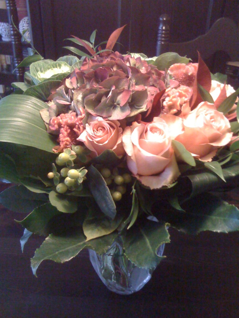 A bouquet from Queen's Park Florist