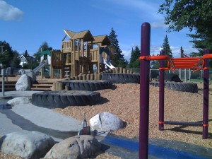 New playground at Grimston Park