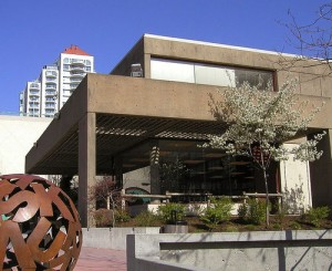 New Westminster Public Library. Photo: Dennis Sylvester Hurd.
