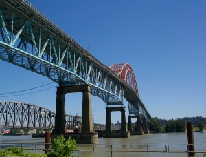 Pattullo Bridge. Photo: Pat Johnstone