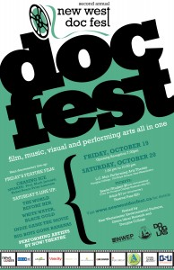 New West Doc Fest, October 19 & 20 at the Laura C. Muir Performing Arts Theatre, Douglas College (700 Royal Ave.)