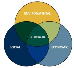 Sustainability encompasses not just environmental concerns, but also social and economic.