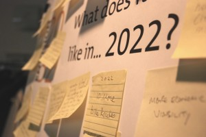 Lots of great ideas came out of Envision 2032's Sustainability Fair in November. Photo: Julia Dykstra