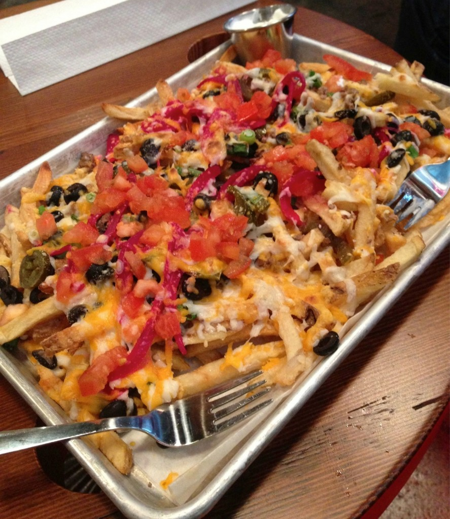 Nachos made with Belgian frites