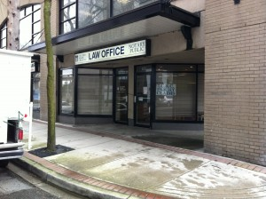 Columbia Square Law Office has very reasonable Notary rates, and great customer service. Photo: Linda M. Tobias