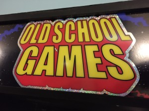 "One of River Market's three arcade machines is appropriately named ""Old School Games."""
