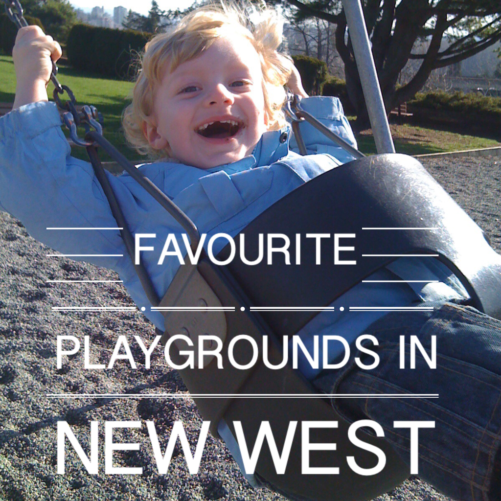 Favourite playgrounds in New Westminster