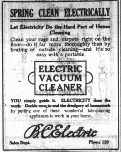 BC Electric Vacuum Cleaner