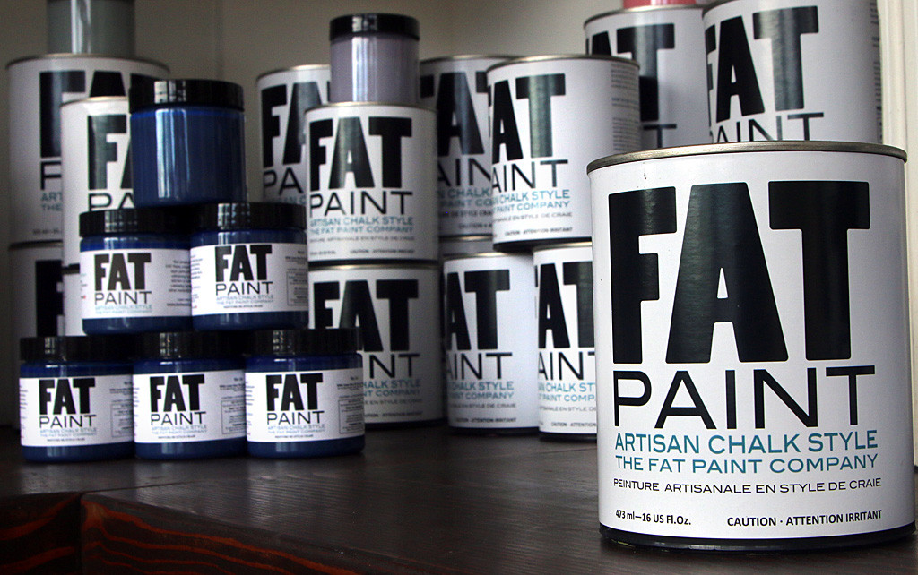 Photo by Mario Bartel The Fat Paint Company started in 2012 on the kitchen counter of Victoria Lambert's former home in Queen's Park. She and her brother Bradford now sell more than 500 gallons a month to retailers across North America.